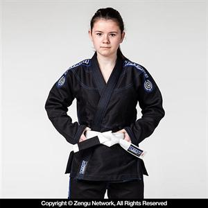 Tatami Children's Black Jiu Jitsu Gi with Free White Belt